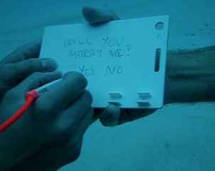 Underwater Proposal Video